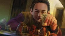 Image of Trystan Martell playing a board game