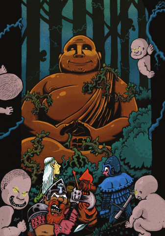 The Hole in the Oak - Cover Image